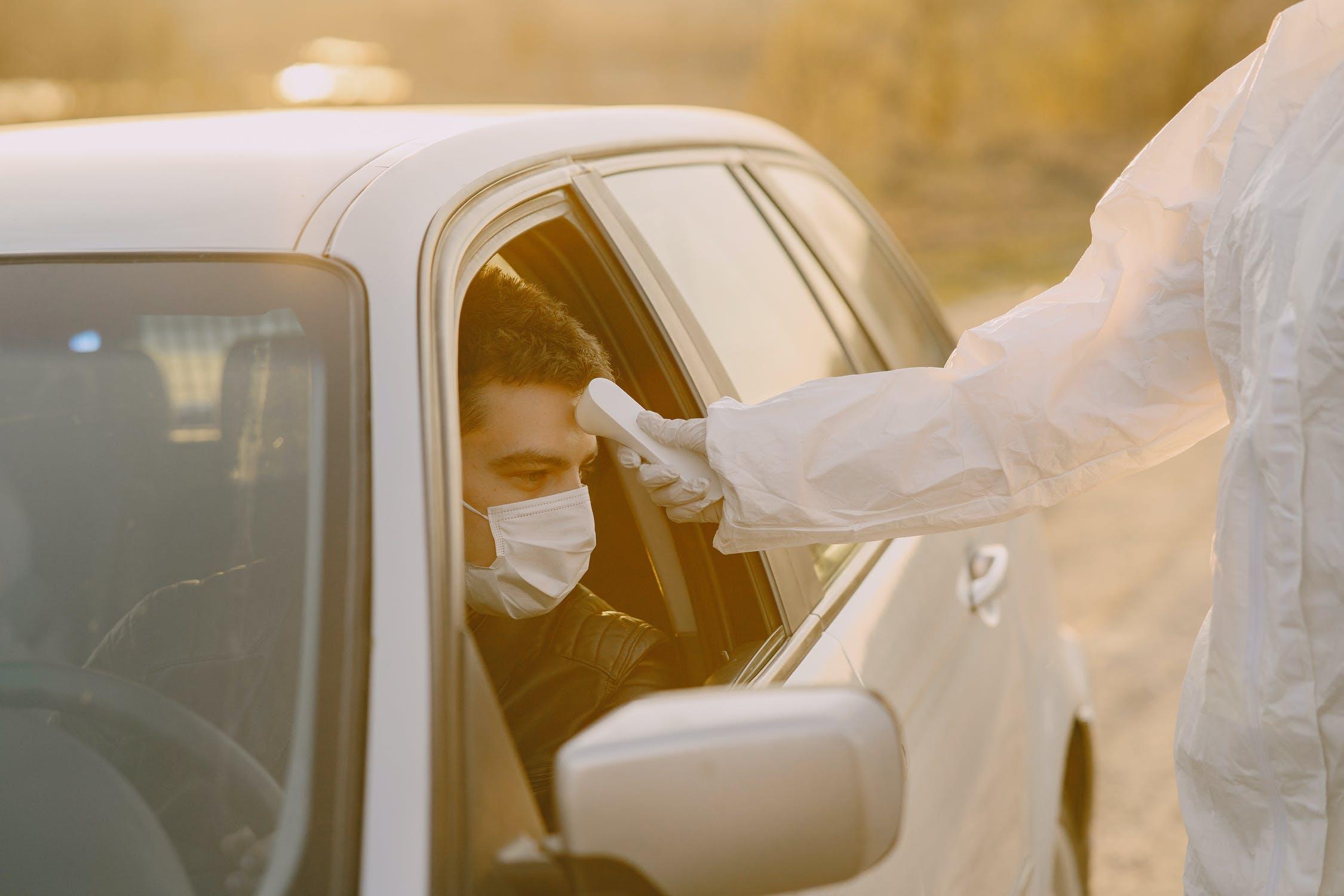 Proteccion de datos, toma de temperatura coronavirus y realización de test
